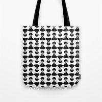 sherlock Tote Bags featuring Sherlock by Blanca Limón
