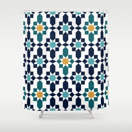 Moroccan style pattern Shower Curtain