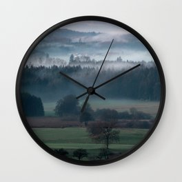 until the black forest Wall Clock