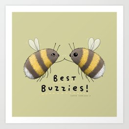 Best Buzzies! Art Print