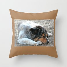 Zzzzz Throw Pillow