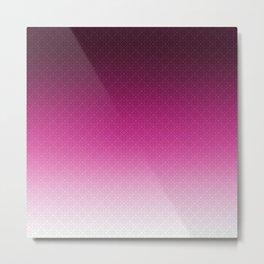 Purple Ombre Metal Print