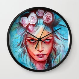 Only the Wicked Wall Clock