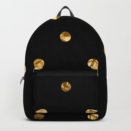 Black & Gold Backpack