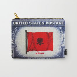 Flag of Albania Carry-All Pouch