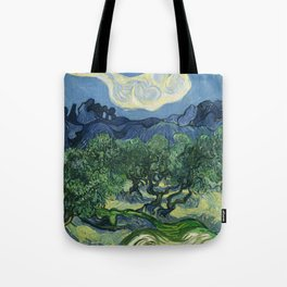 Olive Trees by Vincent van Gogh Tote Bag