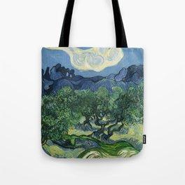 Olive Trees by Vincent van Gogh Tote Bag