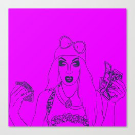 We Love Crookers Canvas Print