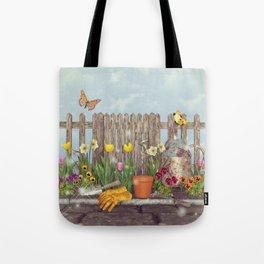 Spring Gardening Tote Bag