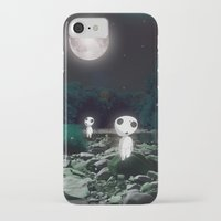 kodama iPhone & iPod Cases featuring Forest Spirits (Kodama)   by pkarnold + The Cult Print Shop
