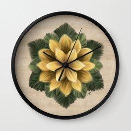 Verbascum Thapsus Sand Wall Clock