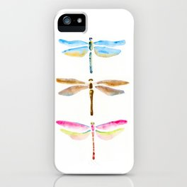 dragonflies are magic iPhone Case