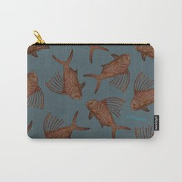 Rooster Blues Carry-All Pouch