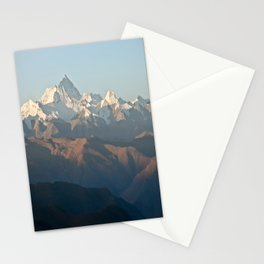 Mount Everest at dawn Stationery Cards