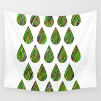 acid Wall Tapestries featuring Acid Drops by BearClauseDesigns