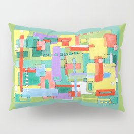 Cocktails in the City Pillow Sham