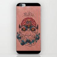 cthulhu iPhone & iPod Skins featuring Cthulhu by Zack Traum