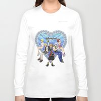 kingdom hearts Long Sleeve T-shirts featuring Kingdom Hearts by clayscence