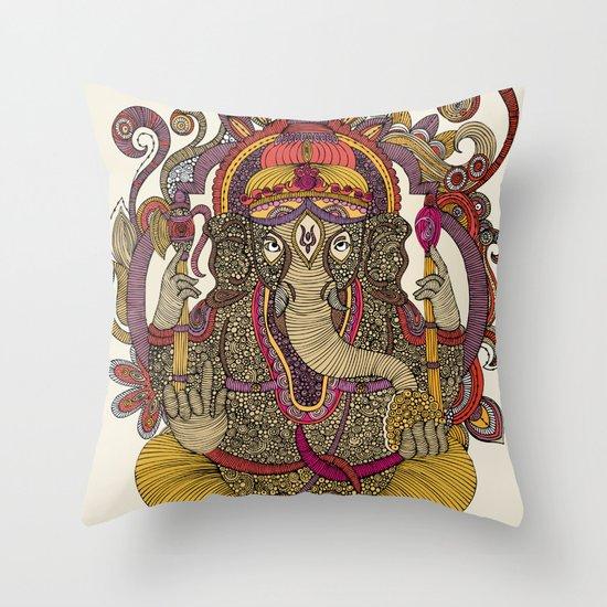 Lord Ganesha Throw Pillow