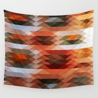 triangle Wall Tapestries featuring Triangle by Fine2art