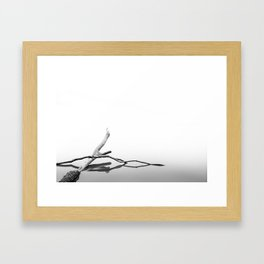 Water is Calm Framed Art Print