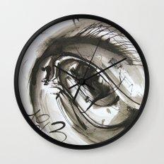 Time's Eye Wall Clock