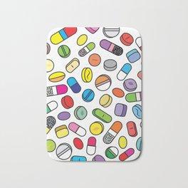 Drugs N Pills Bath Mat