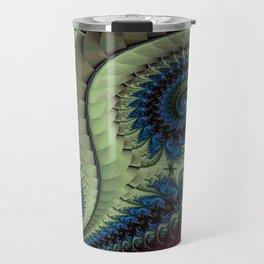 Fractal Abstract 87 Travel Mug