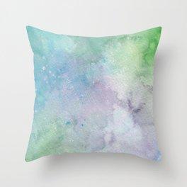 Wonky Galaxy Throw Pillow