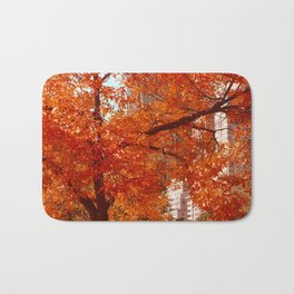New York City Foliage Bath Mat