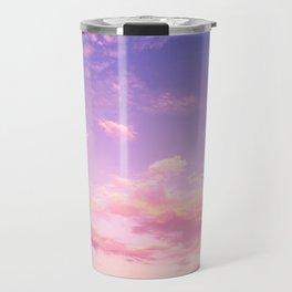 Lavender & Pink Sky Travel Mug