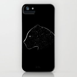Moon-eyed star panther iPhone Case