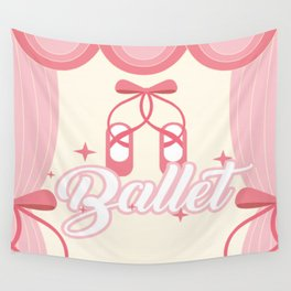 Ballet Wall Tapestry