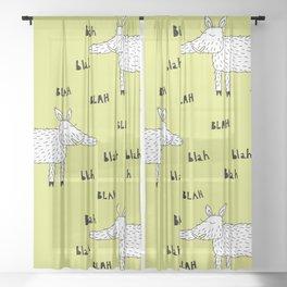 Wild Bore Sheer Curtain