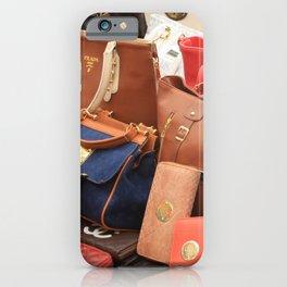 Women's Designer Handbags iPhone Case