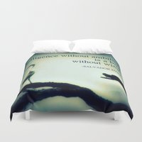 salvador dali Duvet Covers featuring Dali by Nichole B.