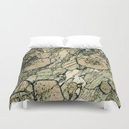 Garnet Crystals Duvet Cover