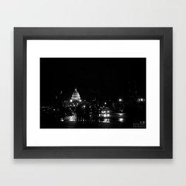 Capitol Hill Framed Art Print