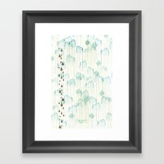 Looks Like Rain Framed Art Print