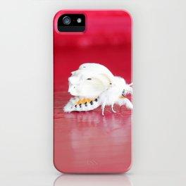 Fall Webworm Moth iPhone Case