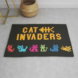 Cat Invaders Rug