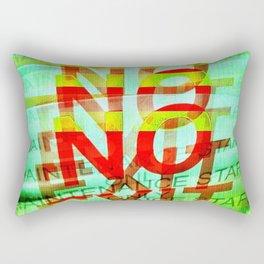 No Exit Rectangular Pillow