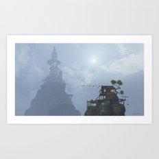 Wu Fangzi Art Print