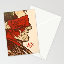 Freedom from Oppression  Stationery Cards