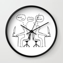 Unqualified Advice 18: Impostor Syndrome Wall Clock