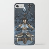 korra iPhone & iPod Cases featuring Korra by Alex Rodway Illustration
