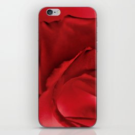 Red Rose Abstract iPhone Skin
