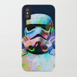 Coloed stormtrooper from wars star iPhone Case