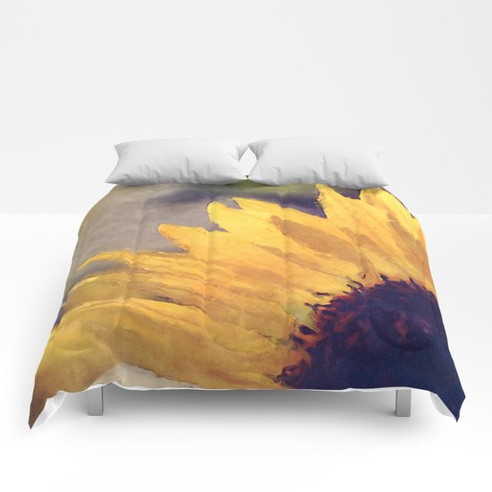 Another sunflower - Flower Flowers Summer Comforters