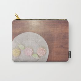 Pastel Flower Cookies Carry-All Pouch